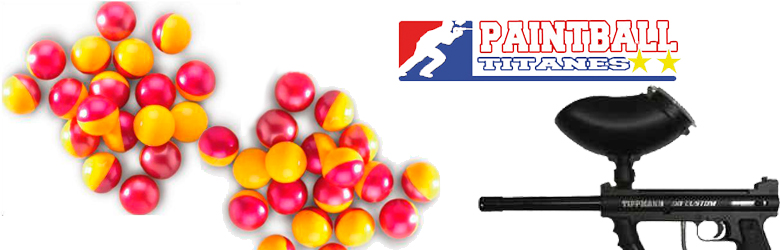 bolas de pintura paintball