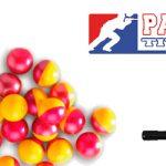 Tipos de bolas marcadoras en paintball